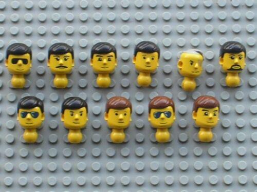 Tech Tête pour personnage LEGO Technic figure minifig Head Choose model
