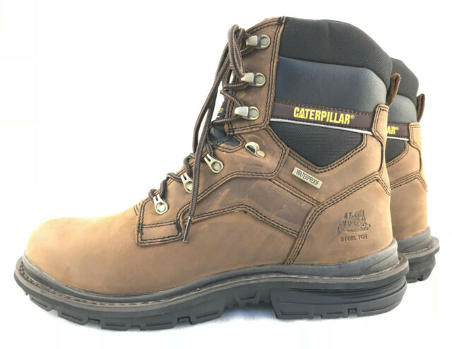 ad1dadea1f97f NIB Caterpillar Flexion Generator 8'' Waterproof Steel Toe Work Boots Size  13