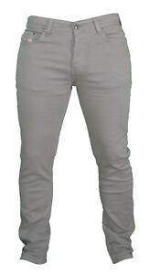 Jeans Slim Casual For Trouser Successful Living Olive Khaki Bnwt Fit Diesel FwPq77