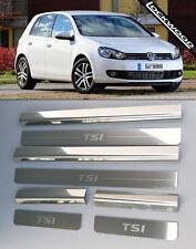 VW Golf Mk6 TSI  4 Door Sill Protectors / Kick plates (2009- early 2013)