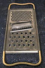 A Greater Grater for all your grating needs stainless steel vintage style