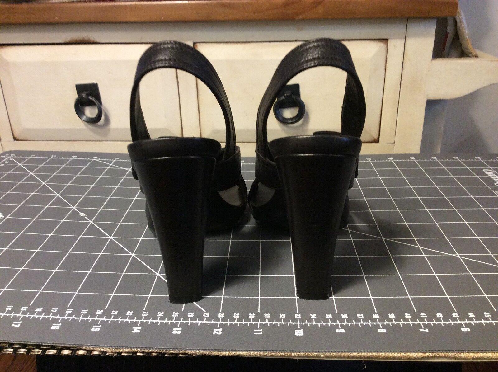 PRADA PRADA PRADA High Heels Dark Braun Criss Cross Straps Damenschuhe Größe 38  af8c5c