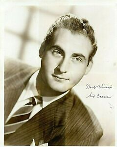 Sid-Caesar-Actor-Comedian-Vintage-B-amp-W-Photograph-Signed