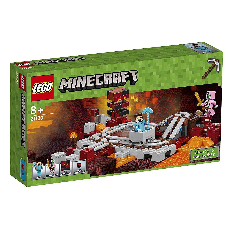 LEGO ® Minecraft ™ 21130 la Nether-Chemin de fer NOUVEAU NEW NEUF dans sa boîte En parfait état, dans sa boîte scellée