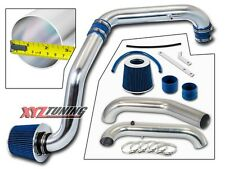 BLUE Cold Air Intake Induction Kit + Filter For 96-00 Civic CX/DX/LX 1.6L L4