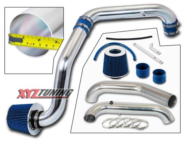 BLUE Cold Air Intake Kit + Filter For 96-00 Honda Civic CX/DX/LX 1.6L L4