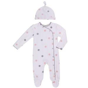 Footie Side Snap Footie. Baby Boys Footed Pajamas Sleepers