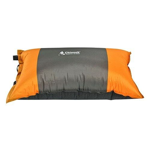 Chinook Dreamer Deluxe Pillow Self-Inflating Travel Backpacking Camping Pillow