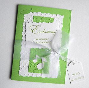 einladungskarten einladung zur konfirmation kommunion firmung, Einladung