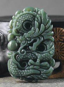 Chinese-natural-Hetian-jade-hand-carved-statue-of-dragon-pendant