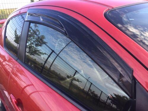 NEW MAZDA RX8 RX-8 AUTOEXE FRONT SIDE DOOR WINDOW RAIN GUARD SMOKED VISORS KIT