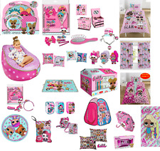 CHILDREN'S LOL SURPRISE PINK ACCESSORIES ACTIVITY DINNER PARTY GIFT IDEA BEDDING
