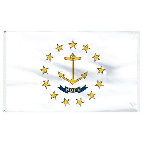 3x5 State of Rhode Island Flag 3/'x5/' House Banner Super Polyester premium