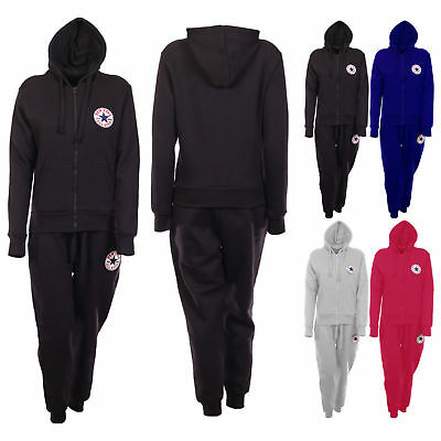 Womens Ladies Contrast 2PC Short Sleeve Hoodie 3//4 Joggers Loungewear Tracksuit