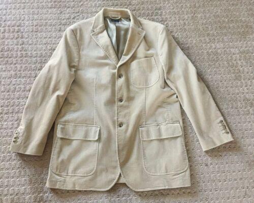 Polo Ralph Lauren Men's Beige Corduroy Sport Jacke