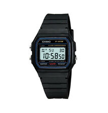 GENUINE ORIGINAL CASIO F-91W ALARM CHRONOGRAPH CLASSIC DIGITAL RETRO STRAP WATCH