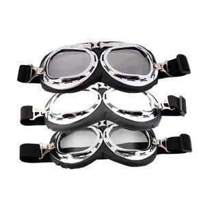 Hot-Anti-UV-Safety-Motorcycle-Scooter-Pilot-Goggles-Helmet-Glasses-Motocross-GU