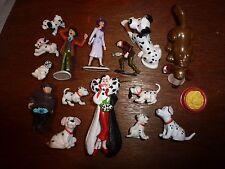 RARE Disney 101 Dalmatians figure toy playset Roger Anita Horace Cruella Pongo