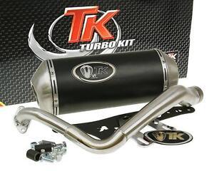 Auspuff-Sport-mit-E-Zeichen-Turbo-Kit-GMax-4T-fur-Honda-Lead-100