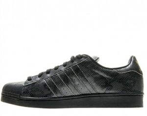 Details about Adidas Superstar East River Rival # B34376 Black Snakeskin Mens SZ 7.5 11