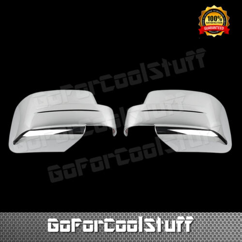 For Jeep Patriot 2008 2009 2010 2011 2012 2013 2014 Chrome Full Mirror Covers