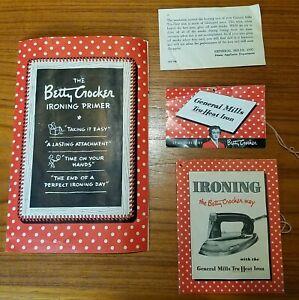 1948-General-Mills-Tru-heat-Automatic-Iron-Manual-Betty-Crocker-Ironing-Primer