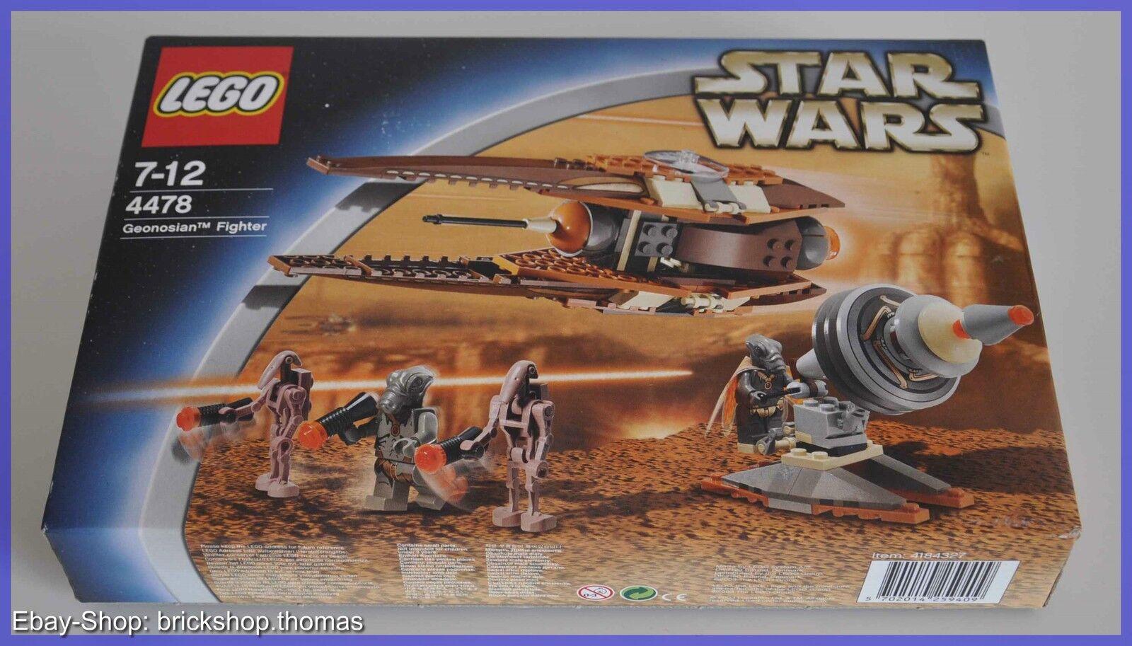 Dans l'attente de la la la ville, retenant votre souffle LEGO star wars 4478-GEONOSIAN FIGHTER-NEUF emballage d'origine ba9a21