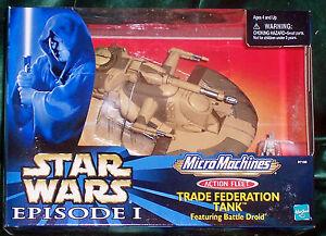 Star Wars Action Fleet Épisode 1 de la Fédération Commerciale Tank and Droid Battle