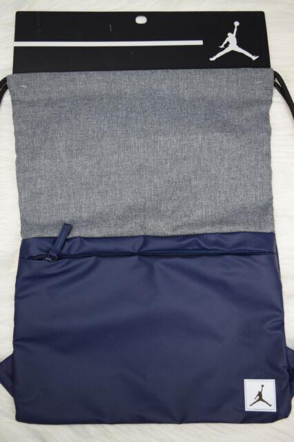 aa9838e43557 Nike Jordan Pivot Gym Sack Drawstring Bag Backpack 9a0084 U90 for ...