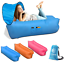 thumbnail 1 - Inflatable Air Lounge Air Sofa Portable With Removable Sun Shade - Waterproof