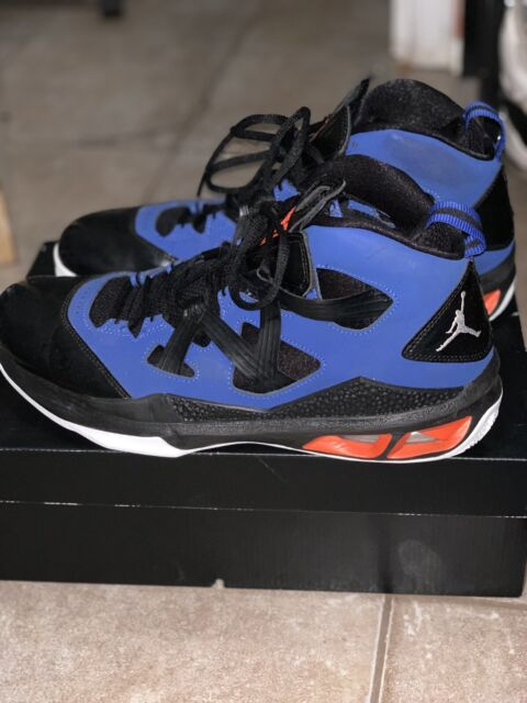 c3e89705a2fe50 Air Jordan Melo M9 – New York Knicks Away Size 10.5 Basketball Shoes ...