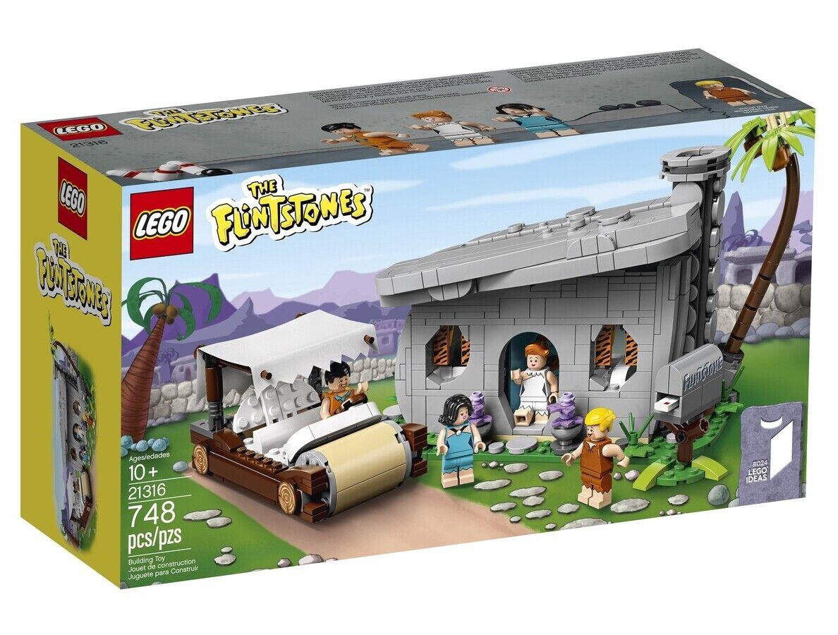 Lego Pierrafeu 21316 The Flintstones  Tout Nouveau Idées Édition Limitée en Main  très populaire