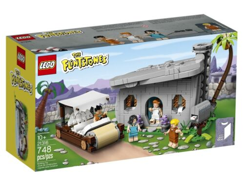 LEGO Flintstones 21316 The Flintstones Brand New IDEAS Limited Edition IN HAND