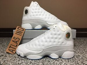 official photos c5d26 af112 Image is loading AIR-JORDAN-RETRO-13-Neutral-Grey-Nike-XIII-