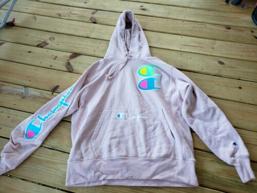 Vintage Champion Reverse Weave Hoodie Pullover (A1
