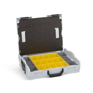 Bosch-Sortimo-Professional-L-Boxx-102-Gr1-inkl-Insetboxenset-B3-Set-grau