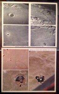 Lunar Craters NASA Original Apollo 10 Reversal Film for Slide