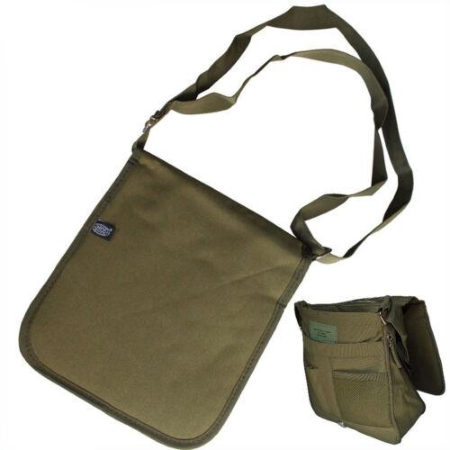 MFH Schulter Umhängetasche Schultertasche Bodybag mit Karten und Stiftfach oliv