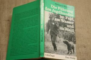 Fachbuch-Jagdhund-Ausbildung-Abrichtung-Fuehrung-Jaeger-Gebrauchshund-1974