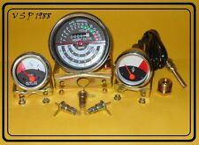 JOHN DEERE TRACTOR TACHOMETER TEMPERATURE FUEL GAUGE SET 1010