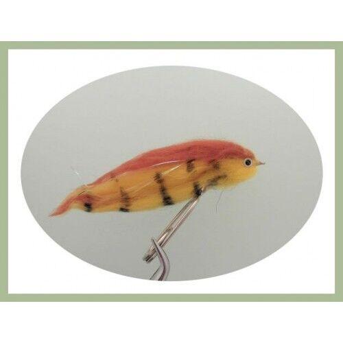Pike Fishing Flies 12 PIKE FLIES dans une boîte Cantilever bonne pêche à la mouche Cadeau