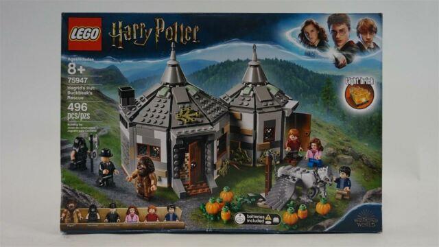 NEW LEGO Harry Potter and The Prisoner of Azkaban 496 pcs Hagrid's Hut 75947