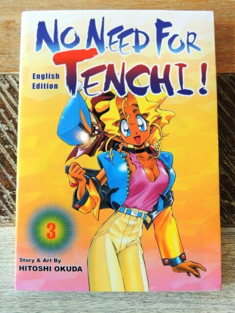 NO NEED FOR TENCHI Vol 3 Graphic Novel English Edition Manga by Hitoshi Okuda
