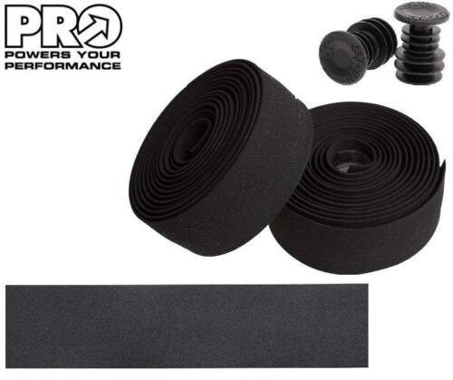 PRO Sport Comfort Road Bike Handlebar Tape 3.5mm Thick Bar Wrap BLACK PRTA0040