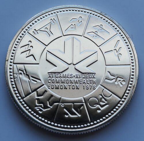 *** CANADA 1978  SILVER DOLLAR  *** EDMONTON  COMMONWEALTH ***