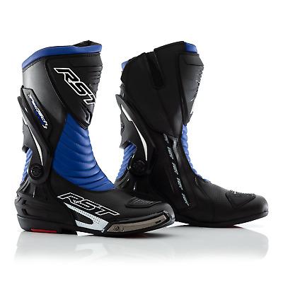 RST Tractech Evo III 3 bottes de course de moto moto CE bleu | eBay