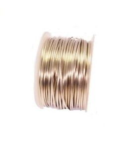 BEADING /& WRAPPING WIRE SOLID COPPER TINNED COPPER WIRE 22GA SOFT 1 OZ  35FT