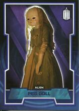 Doctor Who 2015 Purple Parallel [99] Base Card #89 Peg Doll