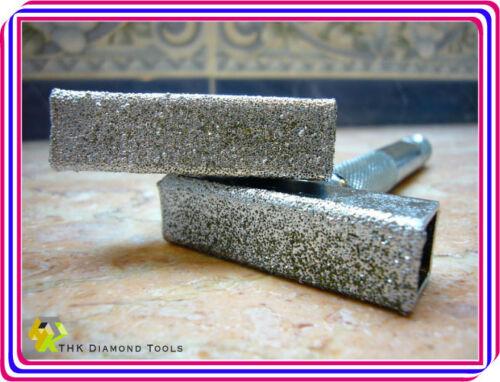 12mm x 45mm Diamant Schleifscheibenabrichter Schleifscheiben-Abrichter Grit 36