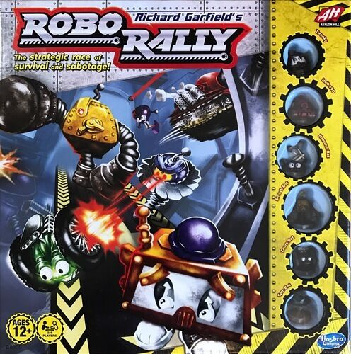 Roborally ein Spiel by RICHARD GARFIELD Brettspiel by Hasbro new english